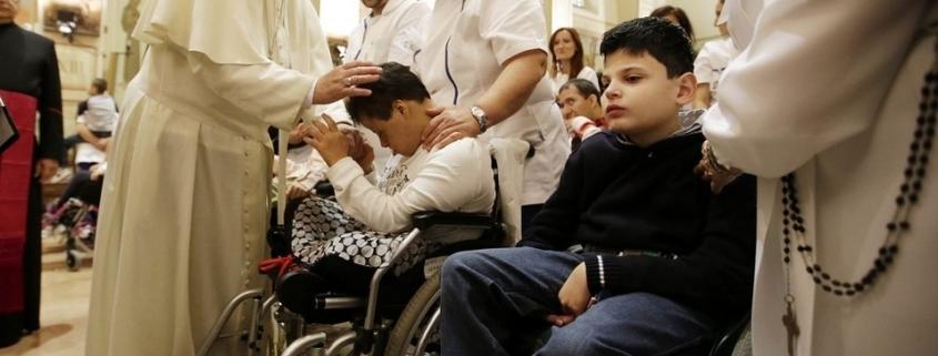 Papa Francisco enfermos